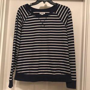Old Navy striped sweater size medium